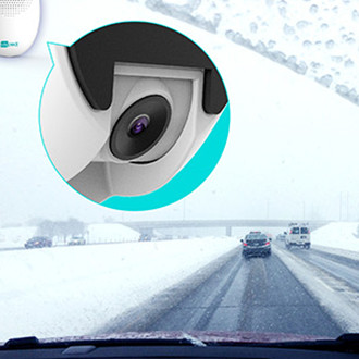 Safe Adas Dash Cam 5 Functions In 1 MTK 8 Core 8GB Chip 9 - 36V Power Input