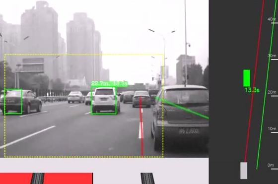 China Car Dvr Adas Forward Collision Alert And Lane Departure Warning 1920*1080 factory