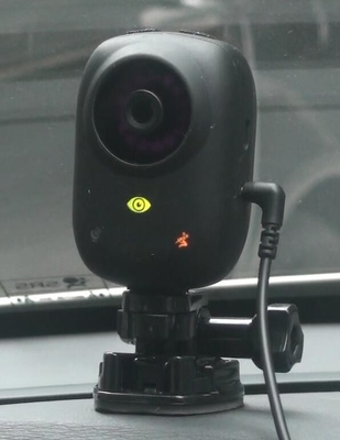 China Anti Sleep Driver Fatigue Monitoring Camera Program With 45km/H Start Up factory